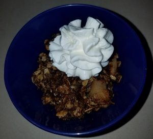 Kids In The Kitchen I:  Awesome Apple Crisp