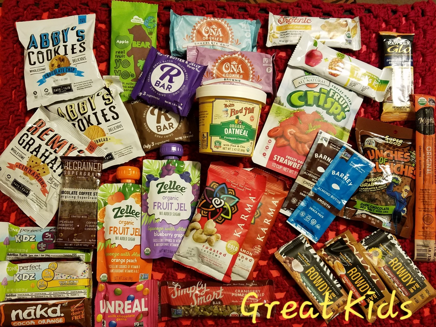 Great Kids ~ Healthy Snacks