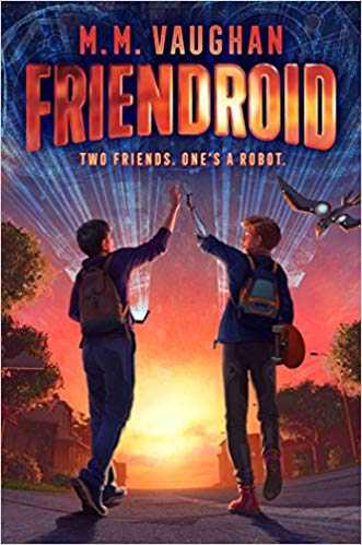 Book Tour Review & Giveaway:  FRIENDROID